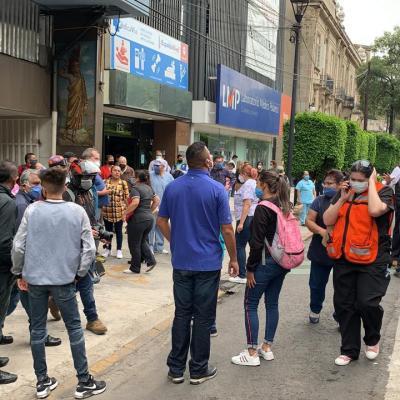 CFE trabaja para restablecer servicio afectado por sismo con epicentro en Oaxaca