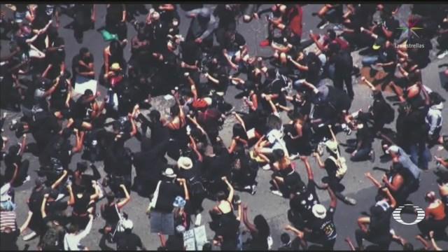 Nueve días de protestas contra el racismo en Estados Unidos