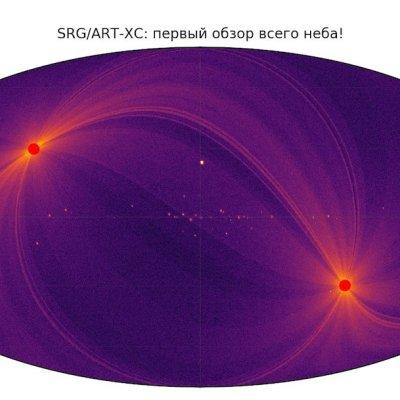 Realizan primer mapa de todo el cielo con rayos X de alta energía