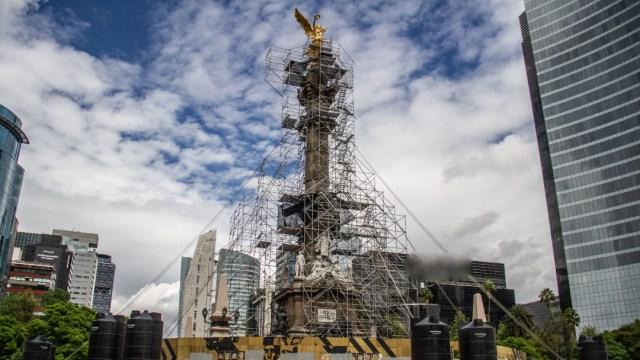 foto del Ángel de la Independencia en la Ciudad de México