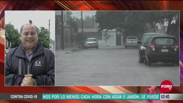 tormenta cristobal causa inundaciones en yucatan
