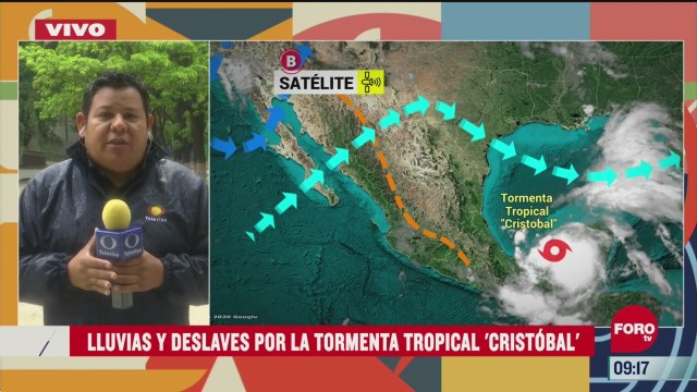 tormenta tropical cristobal ya toco tierra en chiapas