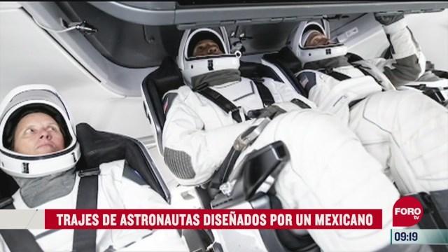 trajes de astronautas disenados por un mexicano