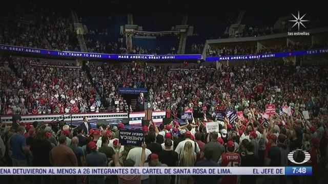 trump reanuda campana presidencial en oklahoma