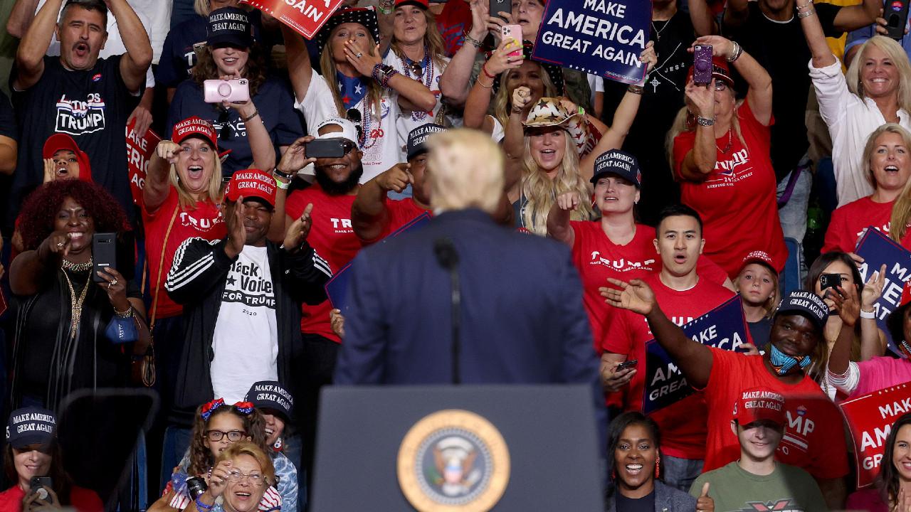 Donald Trump en Tulsa, coronavirus, reapertura