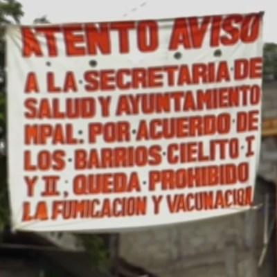 Por fake news sobre coronavirus, padres no vacunan a sus niños en Simojovel, Chiapas