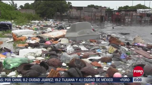 FOTO: 6 de junio 2020, veintidos comunidades siguen bajo el agua en yucatan por tormenta cristobal