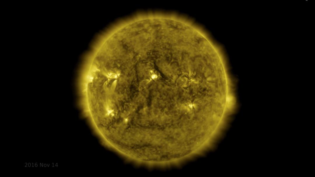 NASA publica video con imágenes tomadas al Sol durante 10 años