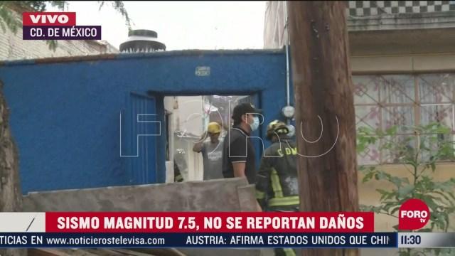 vivienda colapsa tras sismo en eje central cdmx