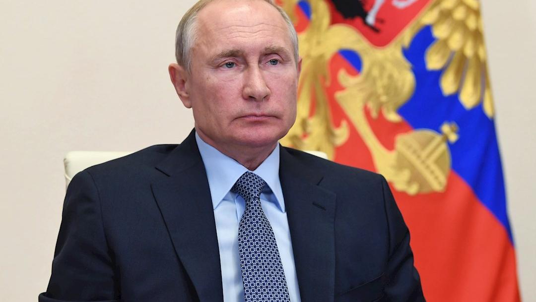 Fotografía que muestra al presidente de Rusia, Vladímir Putin. (Foto: EFE)