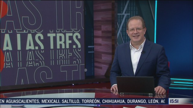 a las tres programa del 3 de julio del