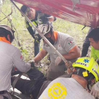Desplome de avioneta deja un muerto y un herido en Cadereyta, NL