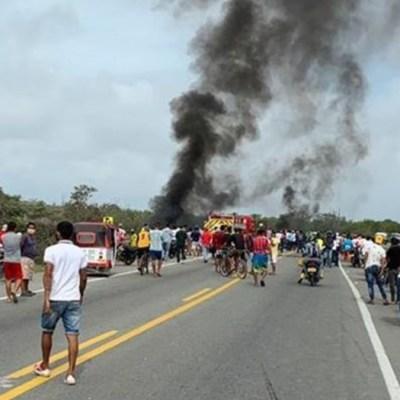 Incendio-de-camión-cisterna-deja-7-muertos-en-Colombia