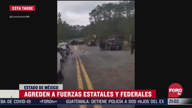 agreden a militares y elementos de la Guardia Nacional en carretera toluca ciudad altamirano