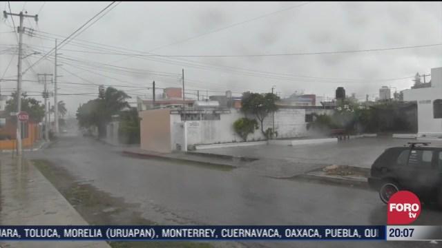 Quintana Roo y Yucatán en alerta por tormenta tropical gonzalo podria convertirse en huracan