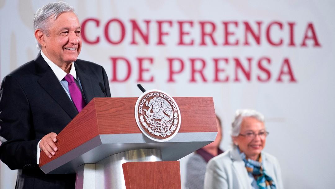 Andrés Manuel López Obrador y Olga Sánchez Cordero