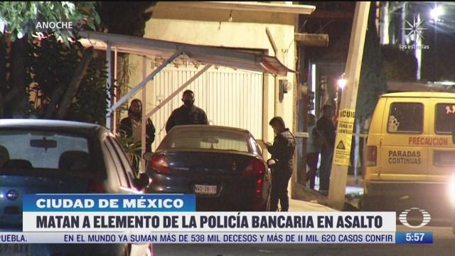 asesinan a policia durante asalto en iztapalapa cdmx