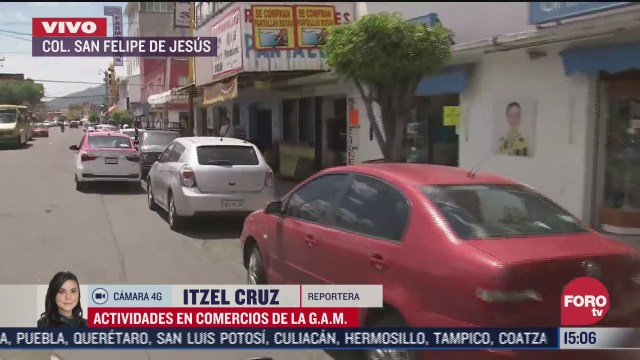asi se vive la actividad comercial en la colonia san felipe de jesus en la gam