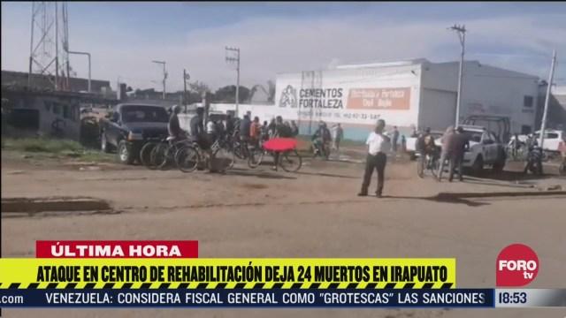 ataque en centro de rehabilitacion de irapuato deja al menos 24 muertos