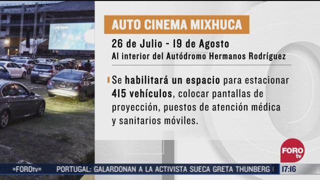 autodromo hnos rodriguez sede del autocinema mixhuca