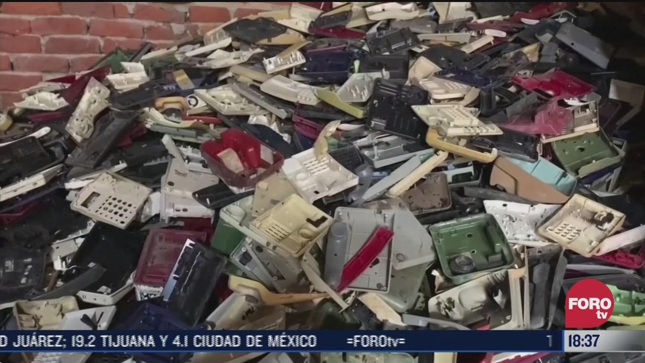 basura electronica amenaza para el medio ambiente