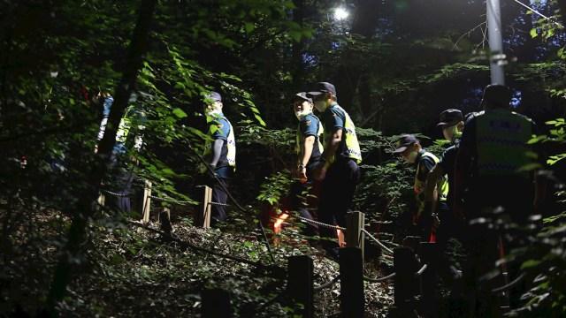 La policía surcoreana desplegó un dispositivo de búsqueda para hallar al alcalde de Seúl.