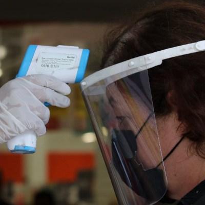 casos confirmados de coronavirus, muertos por coronavirus, toma de temperatura por coronavirus
