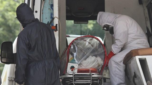 casos de coronavirus confirmados y muertos en mexico
