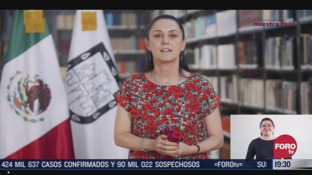 Claudia Sheinbaum informó que la CDMX sigue en semáforo naranja la próxima semana