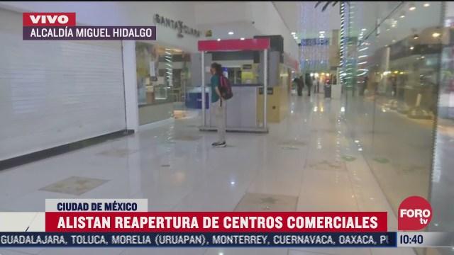 centros comerciales en cdmx comienzan reapertura en nueva normalidad