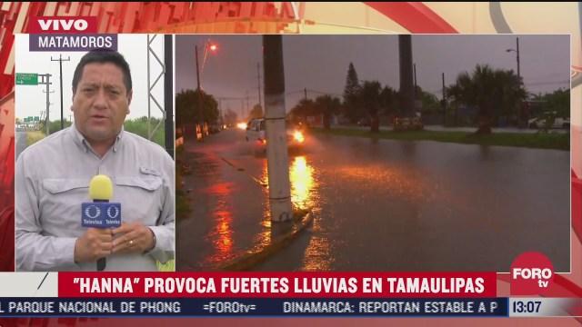 FOTO: 26 de julio 2020, cerca de 150 colonias de matamoros resultan afectadas por lluvias provocadas por hanna