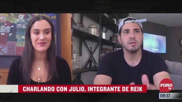 charlando con julio integrante de reik