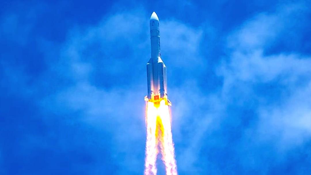 China lanza con éxito la Tianwen-1, su primera sonda a Marte