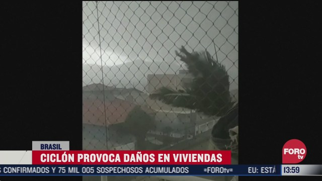 ciclon deja al menos 10 muertos en brasil