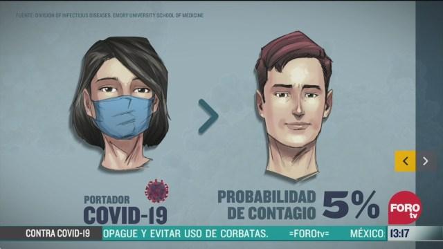 cientifico mexicano recomienda el uso de cubrebocas