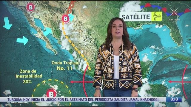 clima al aire termometro marcara 27 grados centigrados en la cdmx preven lluvias fuertes