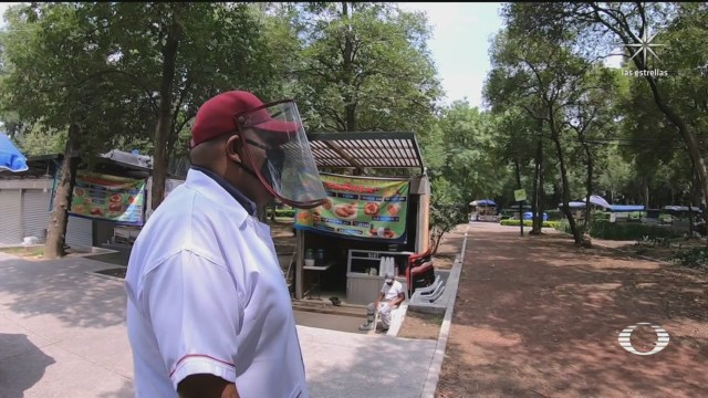 Comerciantes del Bosque de Chapultepec toman medidas necesarias ante coronavirus