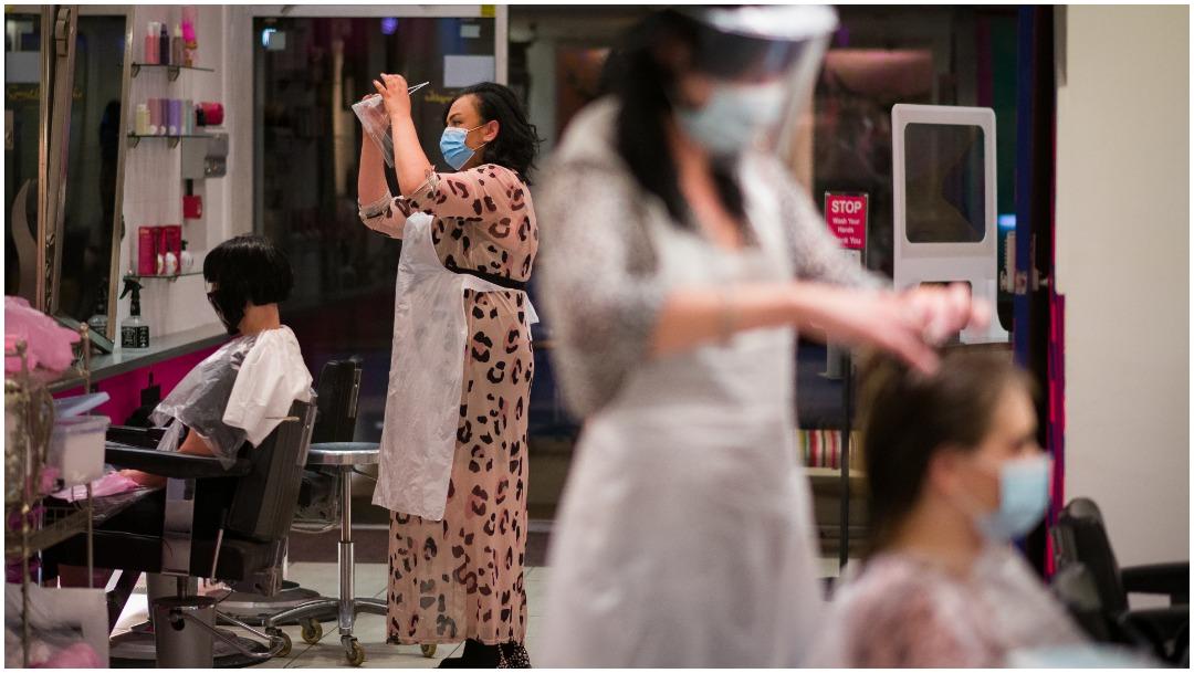 Corte de cabello en tiempos de COVID