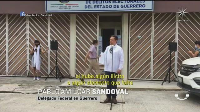 Pablo Amílcar Sandoval denunciado por delito electoral en Guerrero