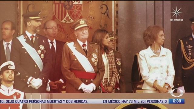 desprestigio en la casa real espanola