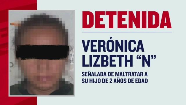 Detienen a mujer acusada de maltratar a su hijo en Ixtlahuacán, Jalisco