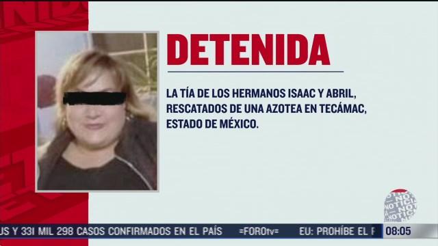 FOTO: 19 de julio 2020, detienen a mujer acusada de violencia intrafamiliar en el estado de mexico