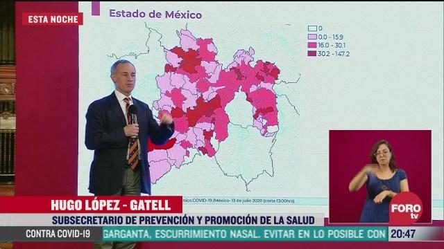 Hugo López-Gatell informa que Edomex tendra semaforo epidemiologico segmentado
