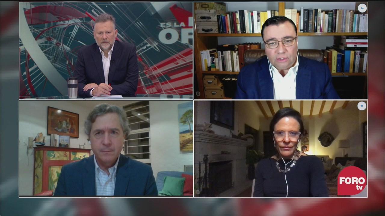Leo Zuckermann, Ana Laura Magaloni, Sabino Bastidas y Luis de la Calle analizan el caso emilio lozoya