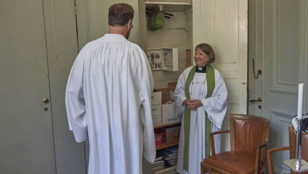 Desde 1960, la iglesia sueca permite a las mujeres participar en el sacerdocio; 60 años después, hay ligeramente más sacerdotisas que sacerdotes