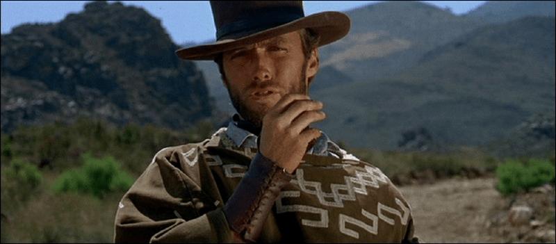 Clint Eastwood como El Hombre Sin Nombre