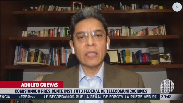 FOTO: 5 de julio 2020, entrevista al comisionado presidente de ift adolfo cuevas