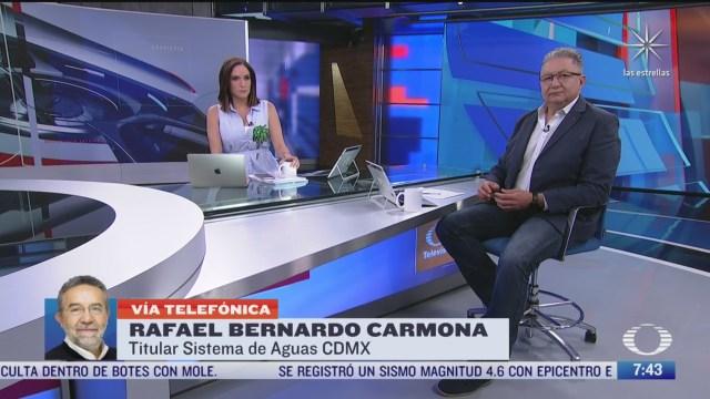 entrevista con el titular del sistema de aguas de la cdmx para despierta