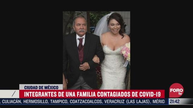 Una familia de la Ciudad de México narra cómo su padre murió por Covid-19