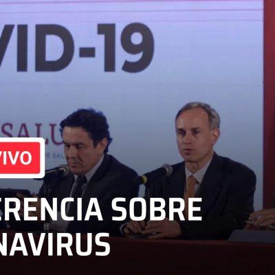 Conferencia en vivo por el coronavirus en México de hoy 13 de julio